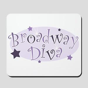 """Broadway Diva"" [purple] Mousepad"